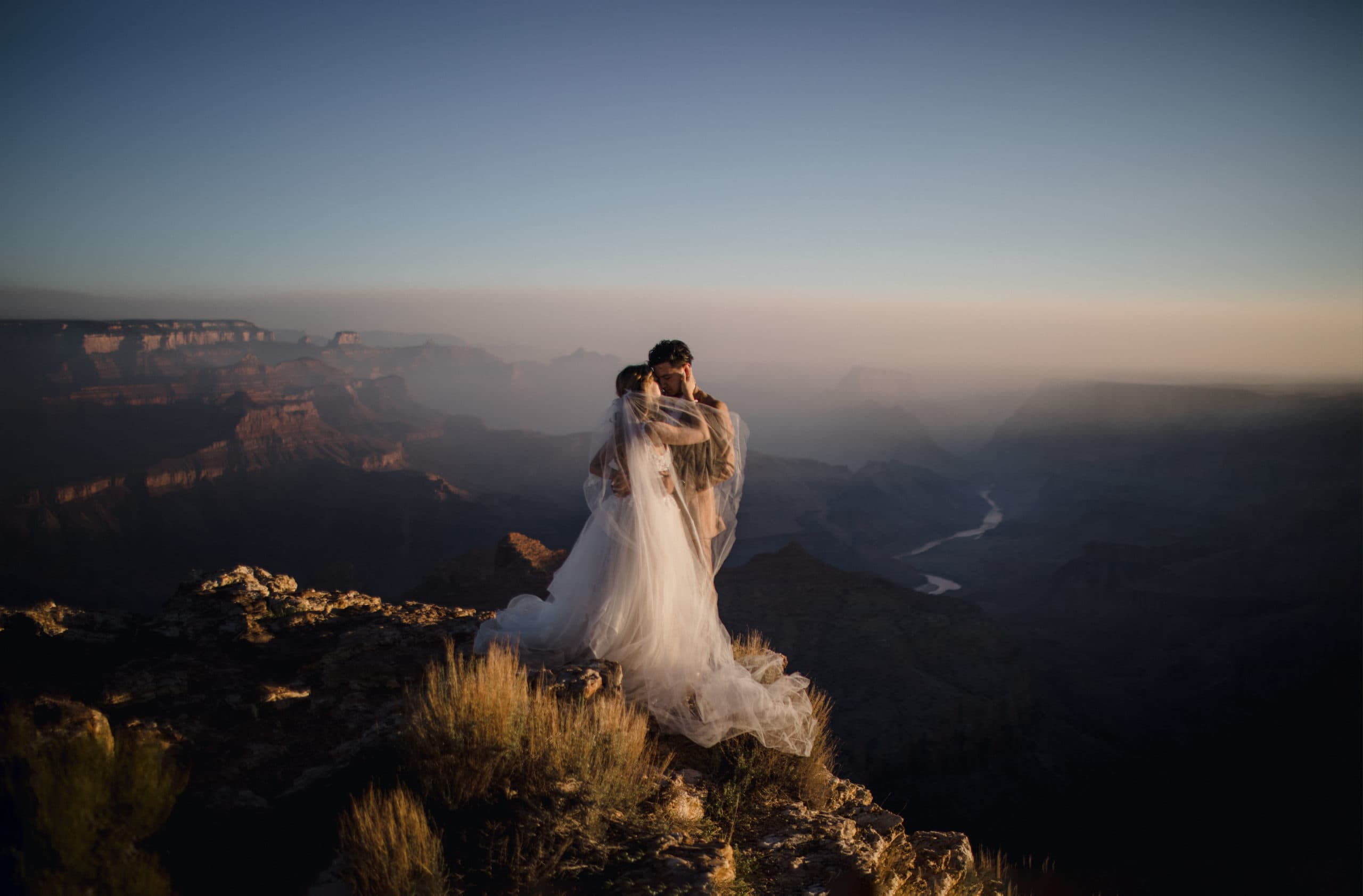 One of the best reasons to elope is the intimacy it provides for the couple.