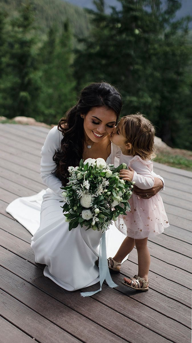 Eloping with children can be a fun way to incorporate the family, children want to be included in special life event.