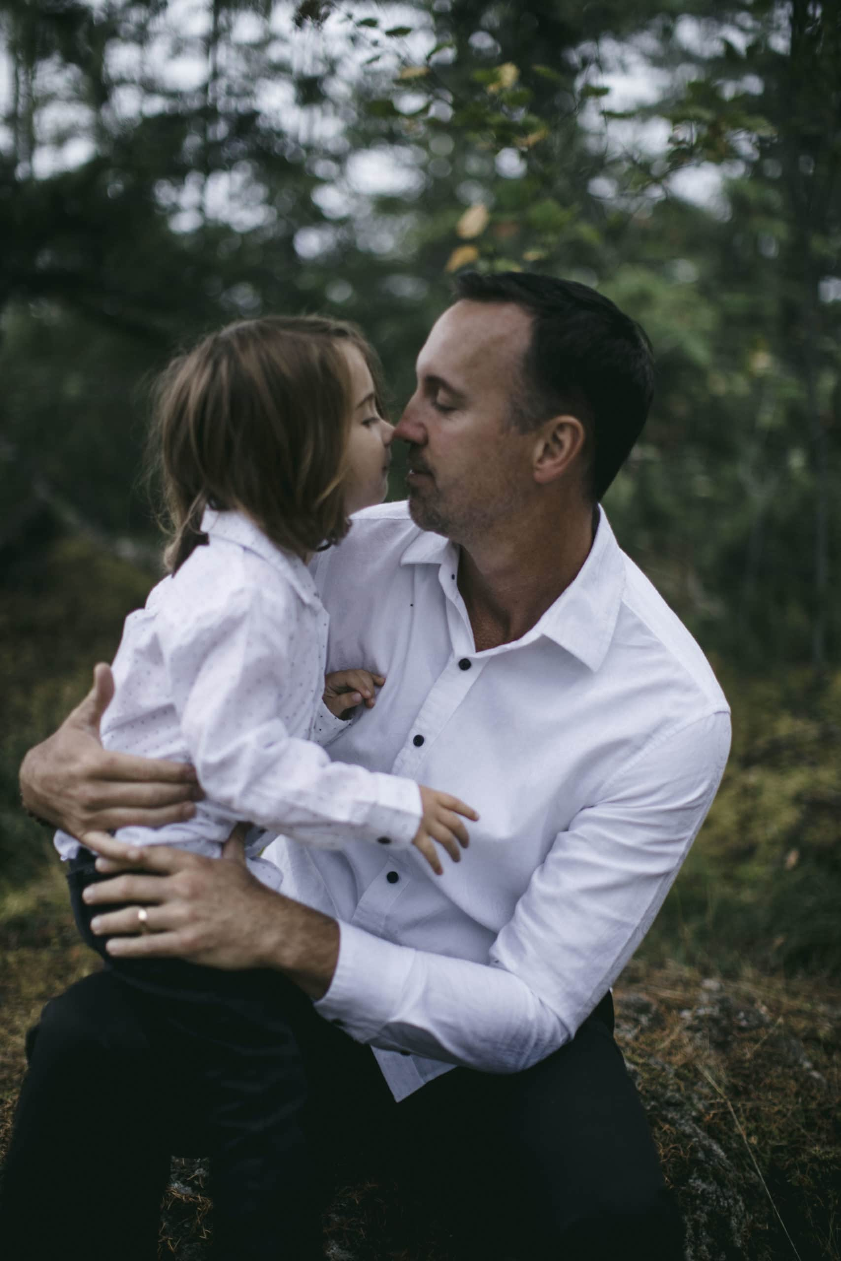 Eloping with children can be a beautiful experience.