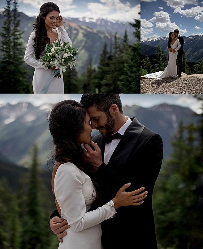 Aspen is a popular destination wedding location in Colorado.