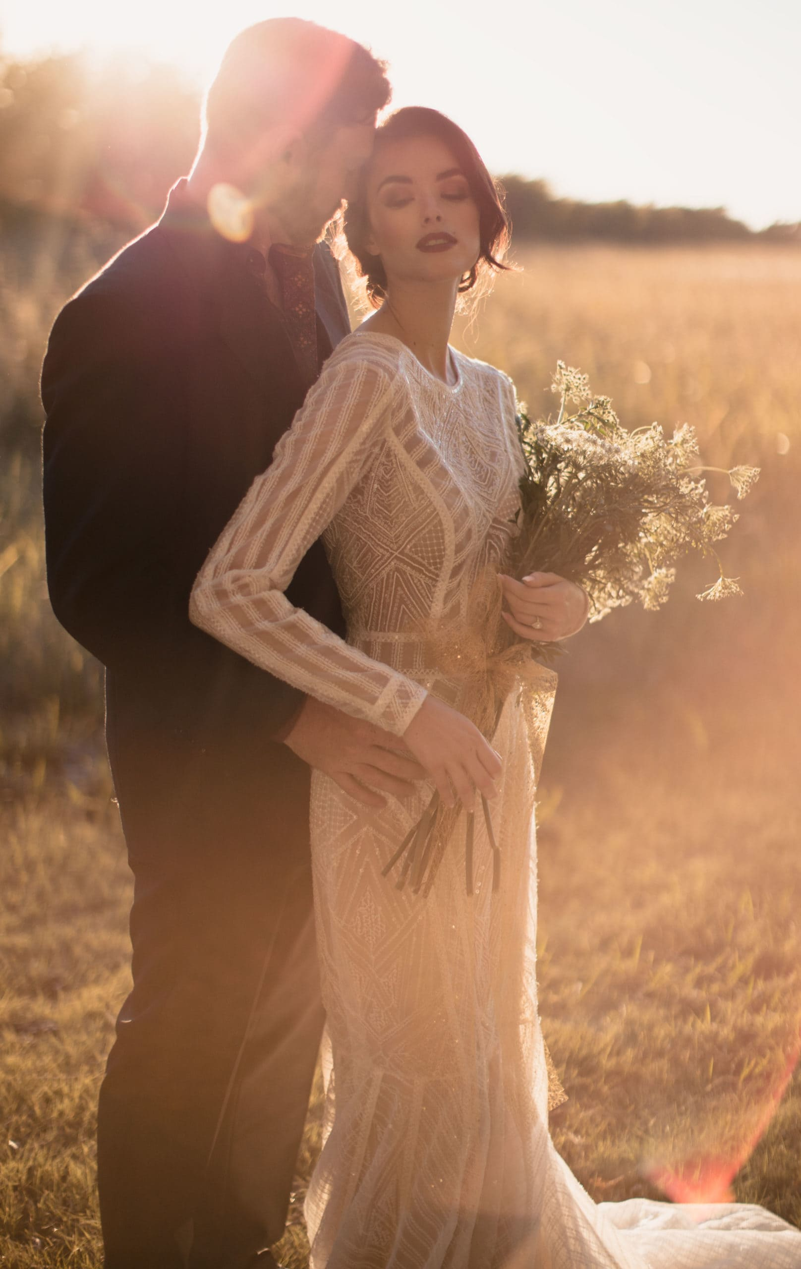 The best elopement photographers know how to pose.