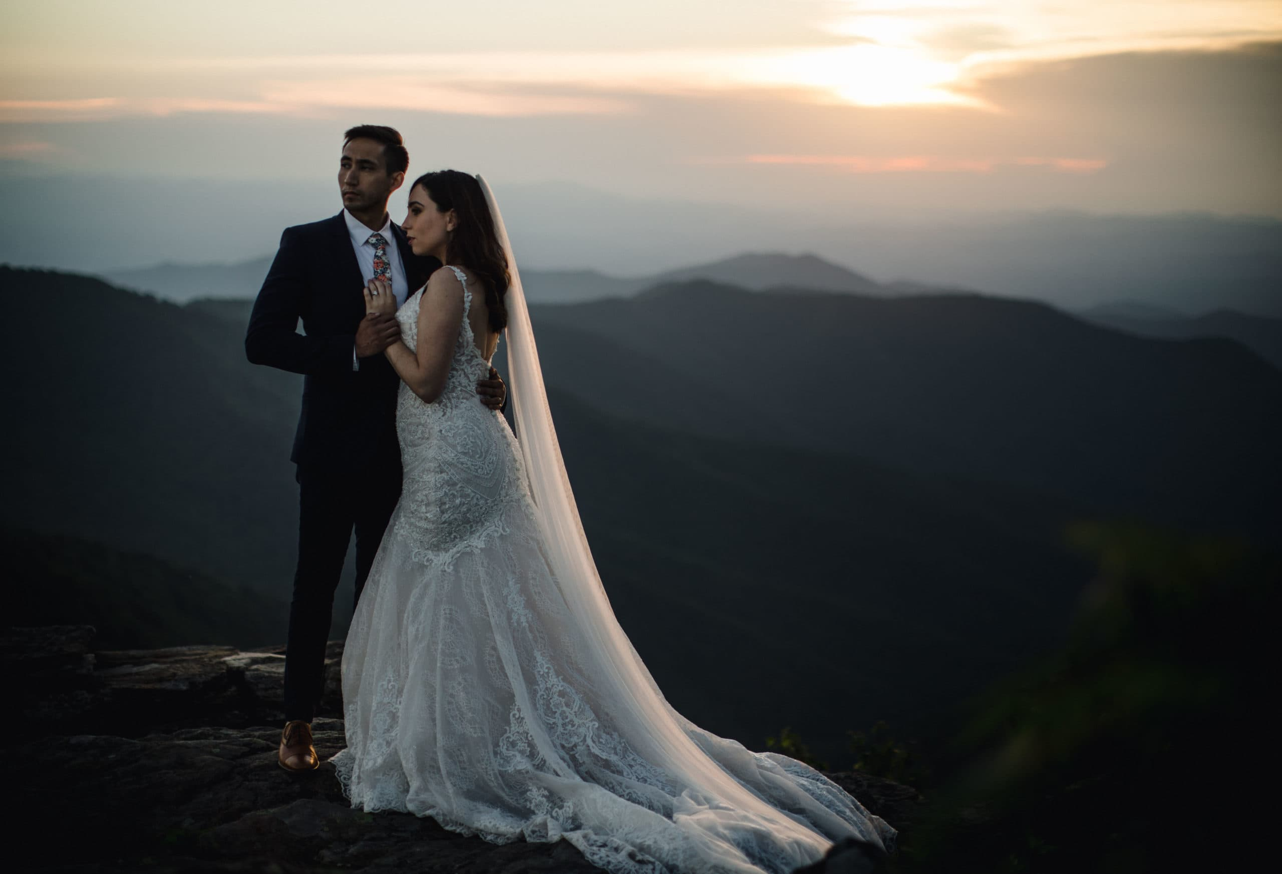 The best way to have a simple and elegant wedding is to elope.