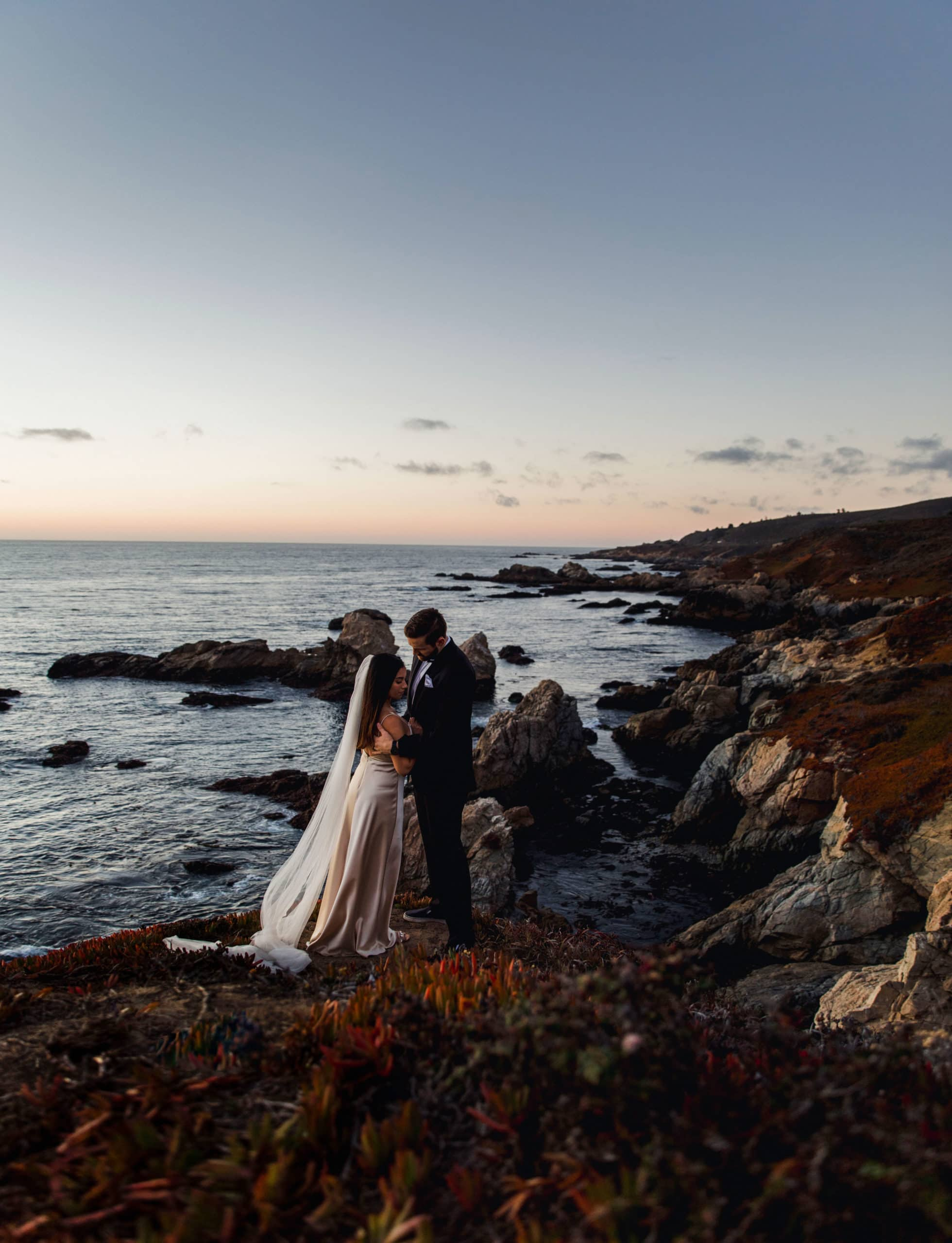 A wedding in Big Sur National Park also known as a California elopement.